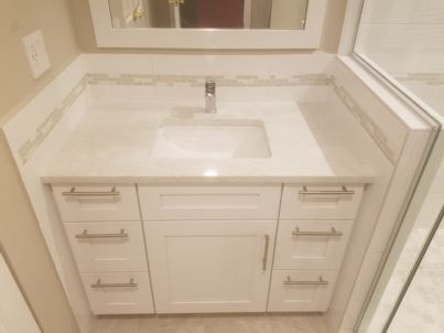 Custom Bathroom Project After 3